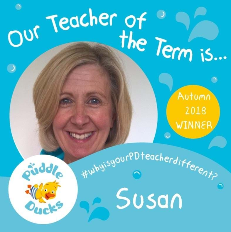 Super Susan crowned 'Teacher of the Term'
