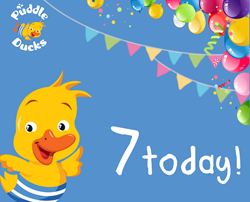 Happy Birthday Puddle Ducks Gloucestershire