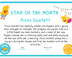 Star of the Month - January 2019
