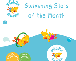 Swimming Stars of the Month - March!