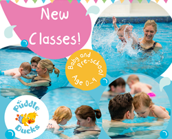 New Jules Pool officially opens for Puddle Ducks and Swim Academy classes!