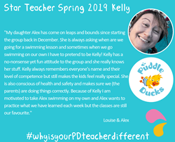 Kelly shines as 'Star Teacher' Spring 2019
