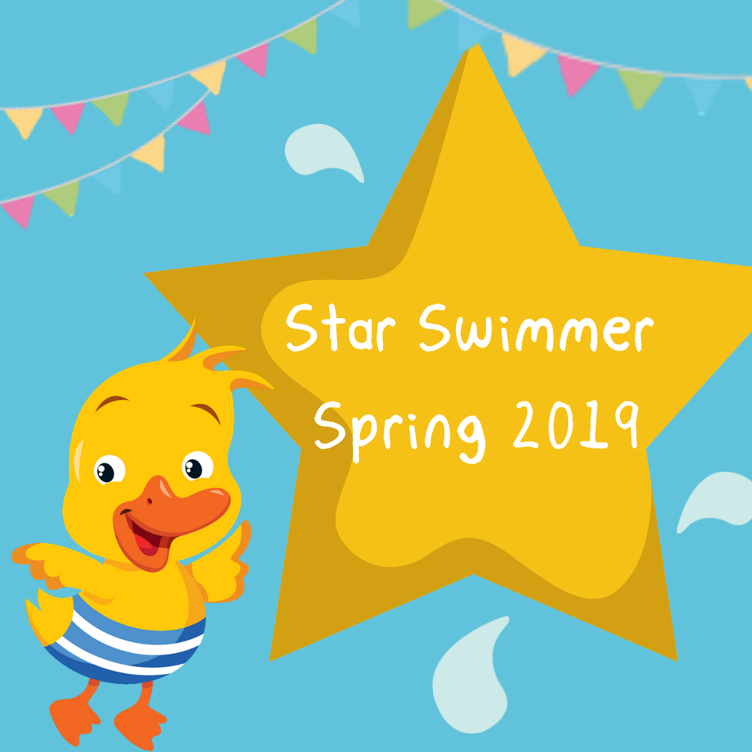 Our Star Swimmers, Spring 2019