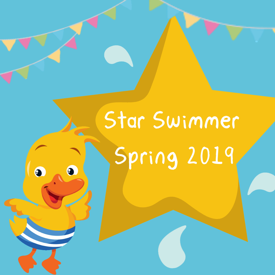 Our Star Swimmer, Spring 2019