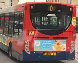 Buses Go Quackers In Gloucestershire!