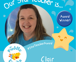 Well done to our Star Teacher of the Term