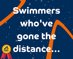 Swimmer's who've gone the distance