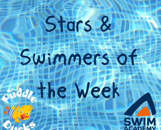Our fantastic Stars and Swimmers