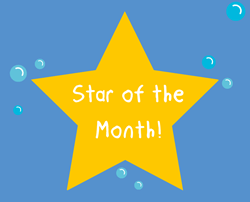 Well done Ariella! - You are our Star of the Month for June