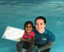 Well done Avani! - You are our Star of the Month for July.