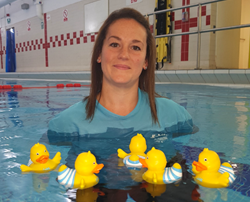 Meet baby and pre-school Swim Teacher Katie!!!