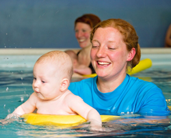 Are you looking for a new challenge?  How about training to become a swimming teacher!