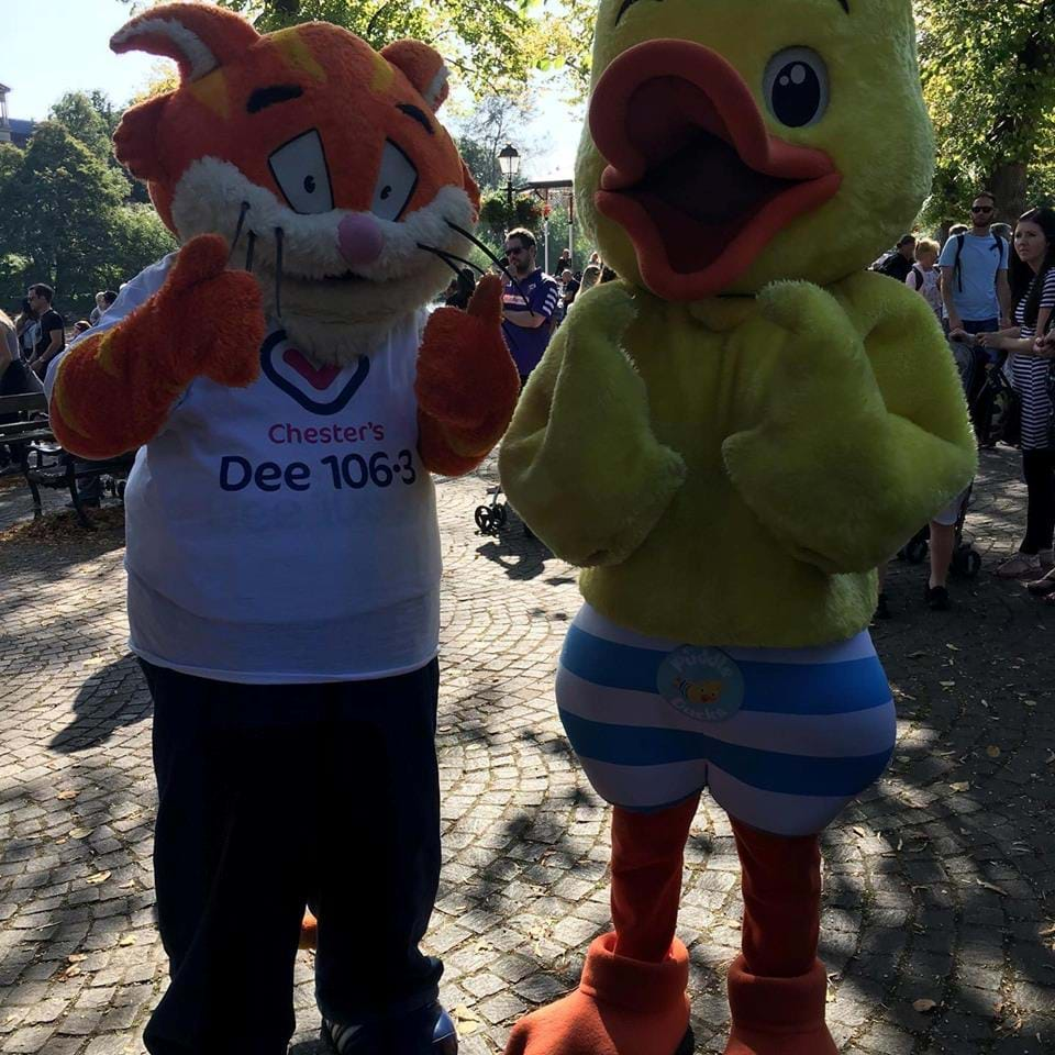 Puddle Ducks proud sponsors of the Chester Duck Race