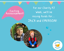 Charity PJ Week 2019 - Raising Money for Jack and Emerson! 💙