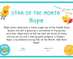 Star of the Month - October 2019