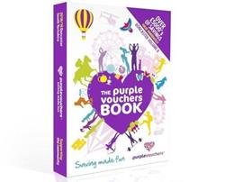 Purple Voucher Books available at your Puddle Ducks Swimming Class