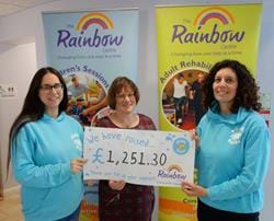 Puddle Ducks Dorset Raise £1,251.30 for The Rainbow Centre!