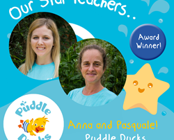 Anna and Pasquale are named our Star Teachers Autumn 2019!