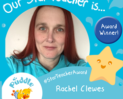Star Teacher Award Autumn 2019