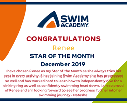 Star of the Month - December 2019
