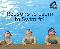 Reasons to learn to swim with Swim Academy South West London