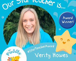 Star Teacher Award Spring 2020 WINNER!!
