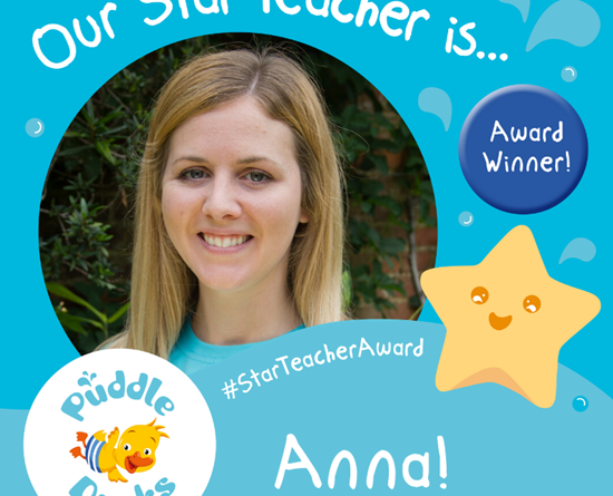 Our Star Teacher Spring 2020 is... Anna!