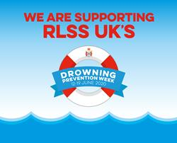 We're Supporting Drowning Prevention Week